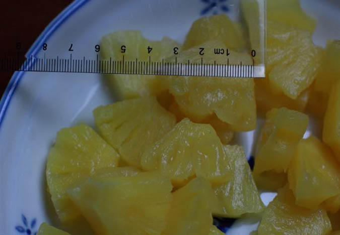 pineapple dices